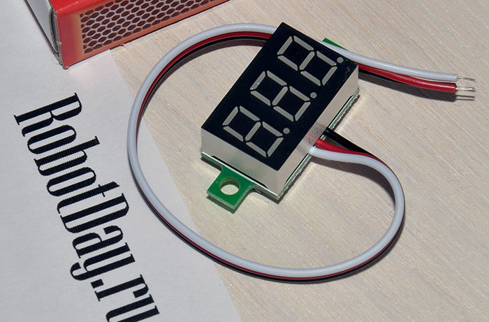 Mini LED Panel Voltage Meter