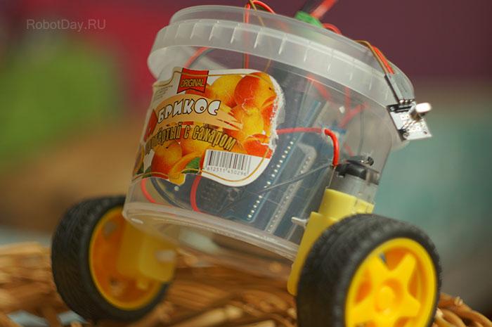 Arduino Easy Robot RobotDay.ru