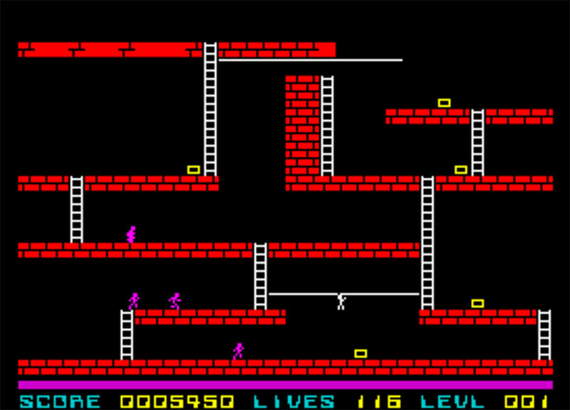 ZX Spectrum Lode Runner